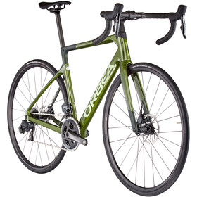 Orbea Orca M21eTeam, military green/metallic dark green